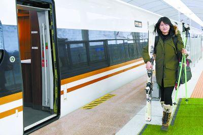近80万人次抢先体验 京张开通半月滑雪客流大增